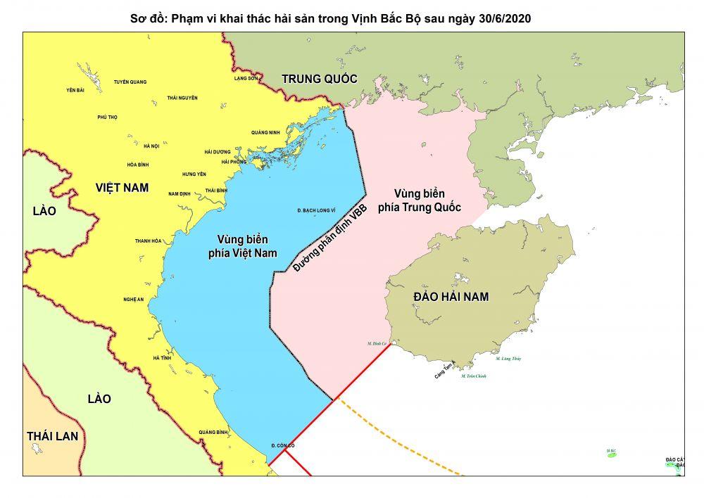 'Hiệp định hợp tác nghề cá Vịnh Bắc Bộ' hết hiệu lực, ngư dân lưu ý ranh giới với Trung Quốc - Ảnh 1