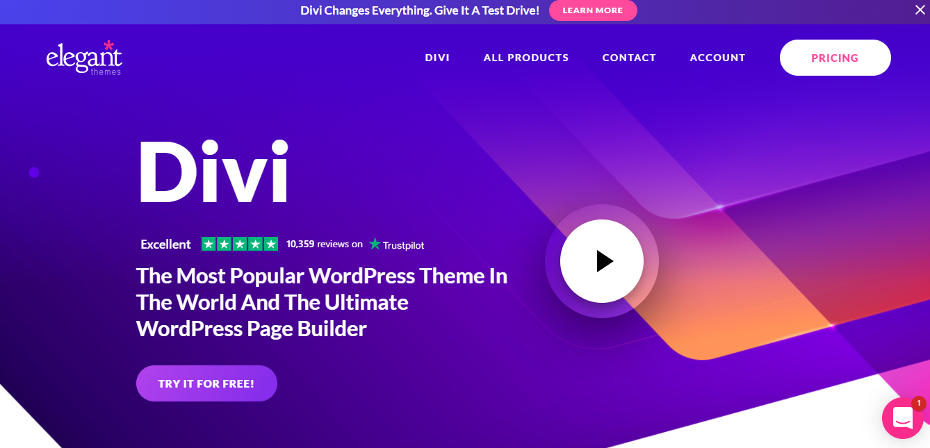 Divi-WordPress-theme responsive theme for wordpress