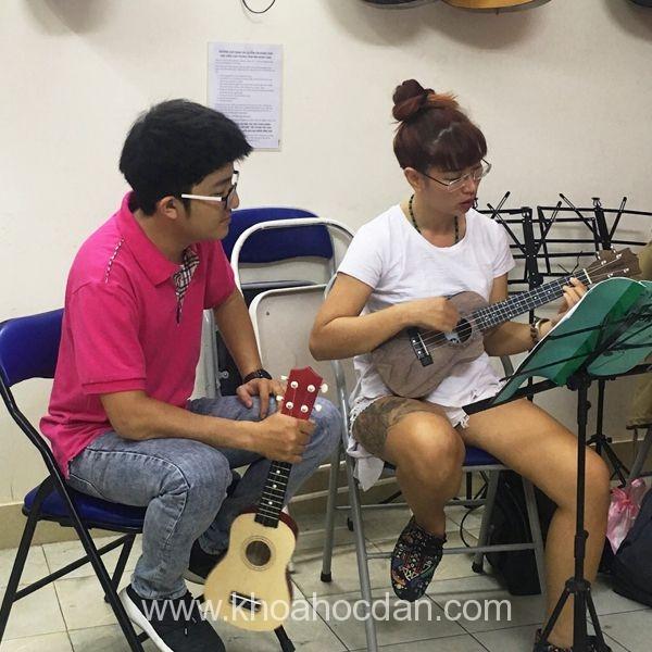 Học đàn Guitar uy tín, chất lượng cao cùng Trung tâm  Âm Nhạc YAM  2