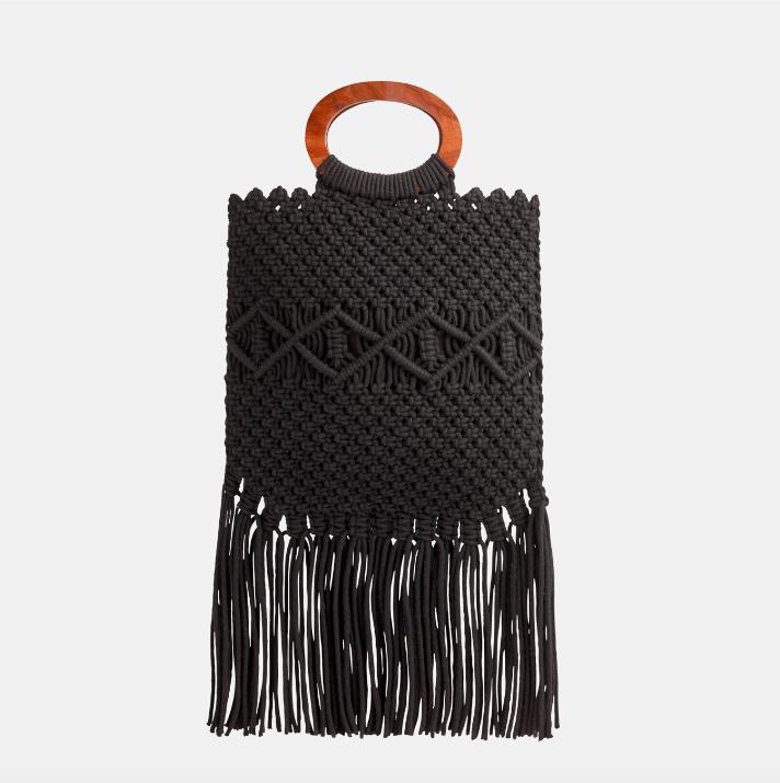 minimalist jewelry - Danielle Nicole Macramé Handbag