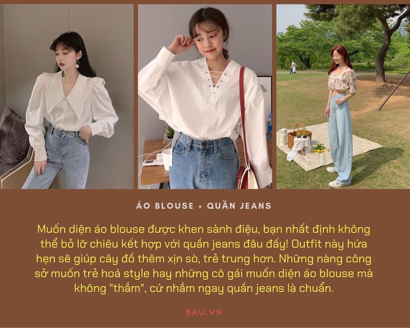 Những tips kết hợp áo blouse cho các cô nàng năng động - ảnh 1