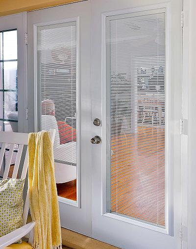 ODL Enclosed Doorglass Blinds