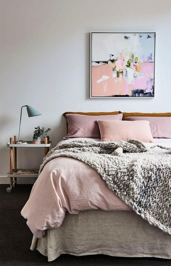 Bedside Table Ideas With A Cart