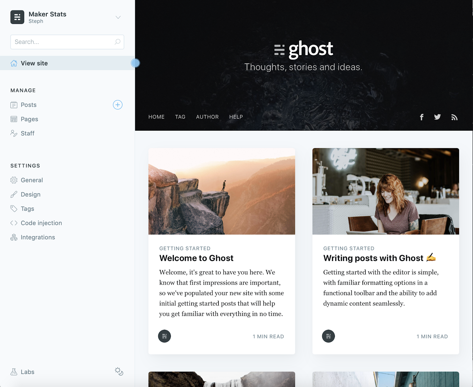 Step by Step: Setting up Ghost with a Digital Ocean Droplet