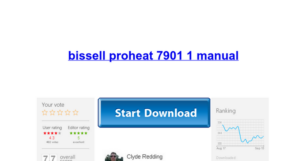 Bissell proheat 7901 1 manual google docs fandeluxe Images