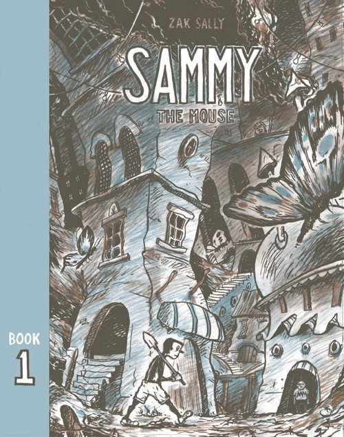 What would you do if God told you to open the door? A review of Zak Sally's SAMMY THE MOUSE