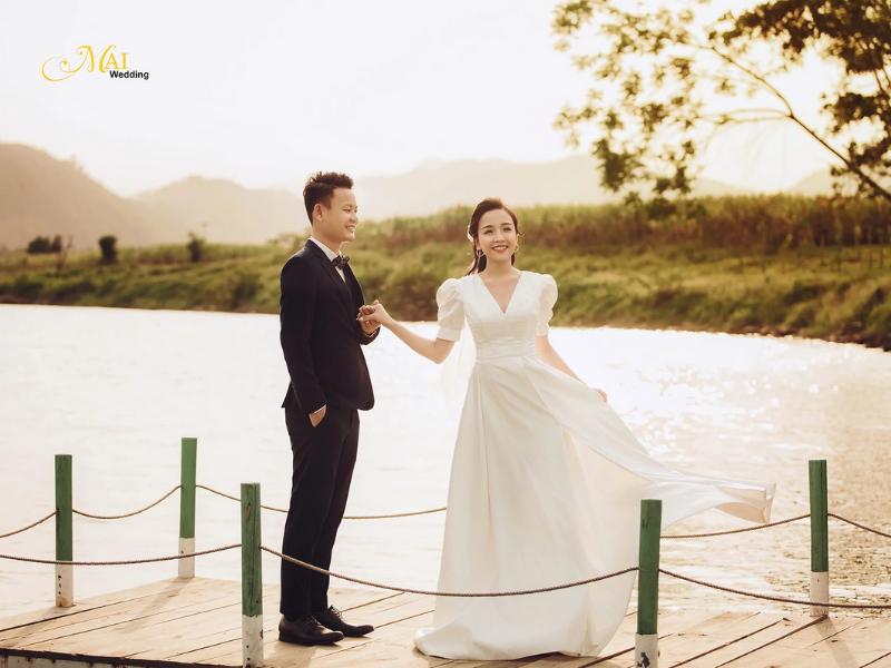 Hoàng hôn đẹp tại Yên Retreat