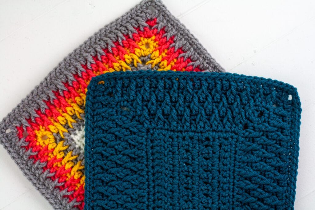 alpine stitch crochet border