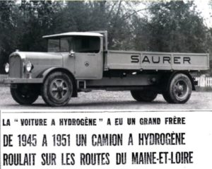 The first hydrogen truck