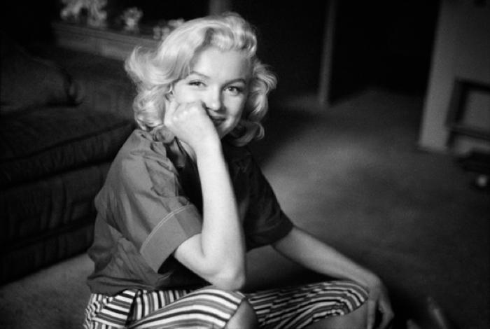 Marilyn Monroe Smiling
