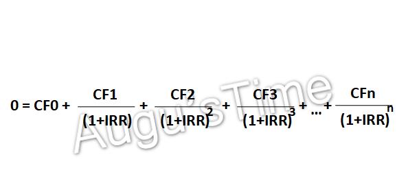 IRR\公式
