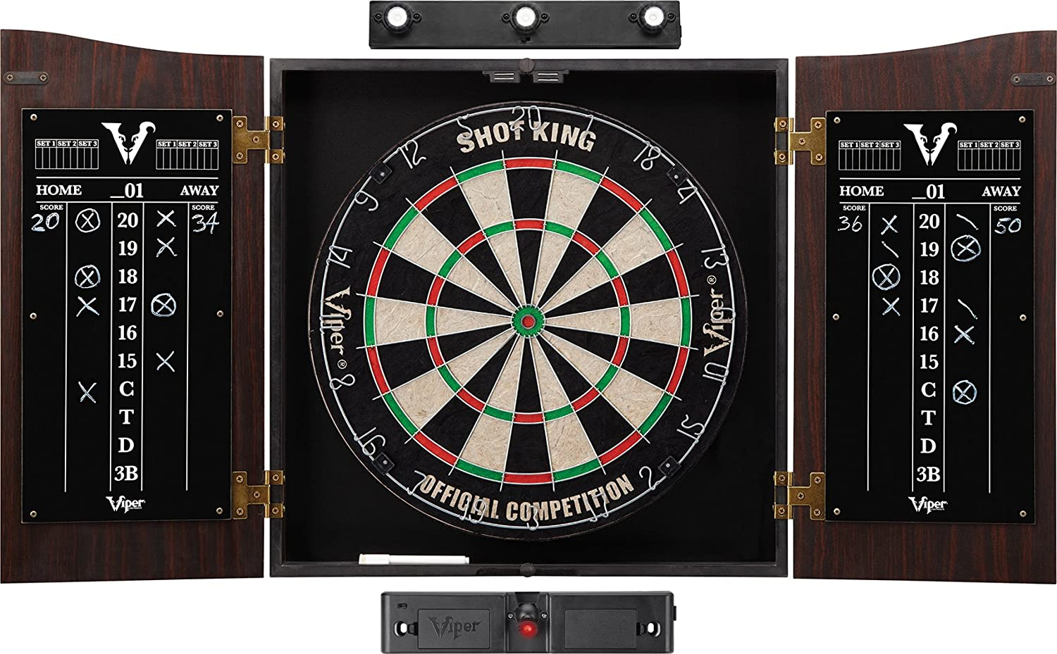 best dart board with cabinet