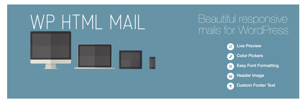 WP HTML Mail header image