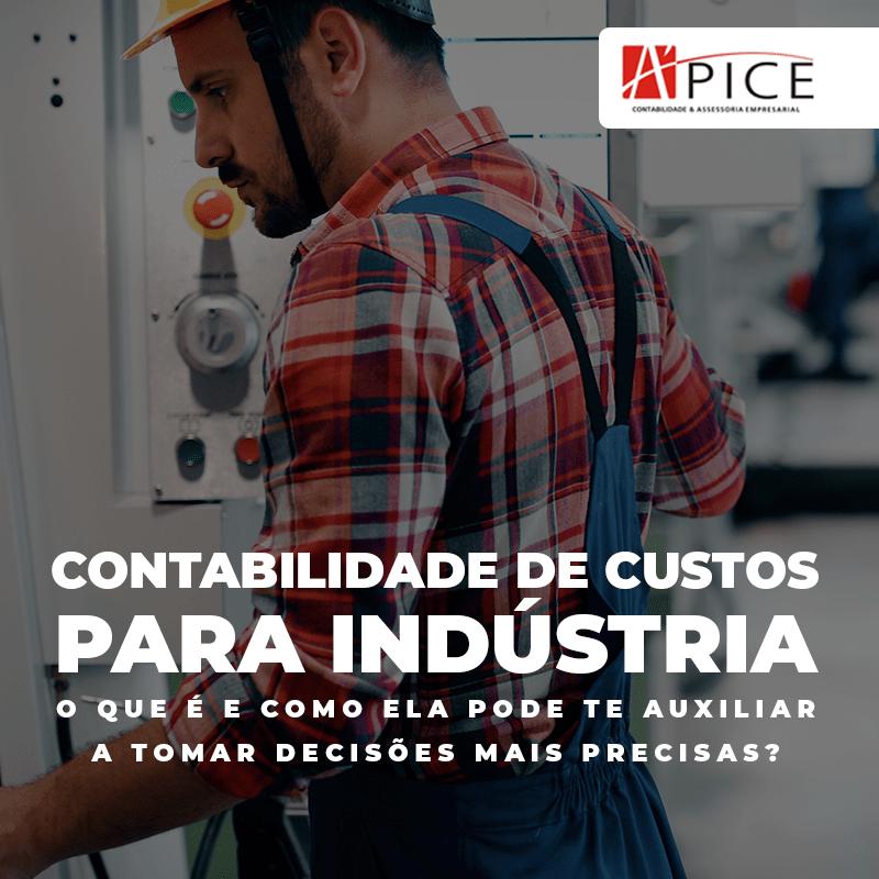 contabilidade de custos para indústria