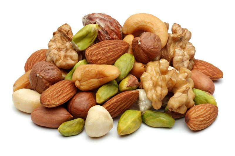 Nuts and seeds to bost your fitness