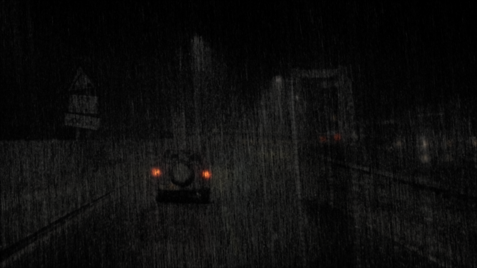 Proxy geo generated in the initial stages of the shot pipeline to generate a randomised particle system of rain splatter sprites, emulating how real rain splatter looked.