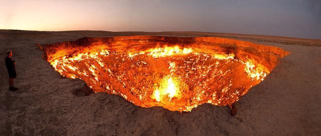 Ворота до пекла - селище Дервезе, Туркменістан
