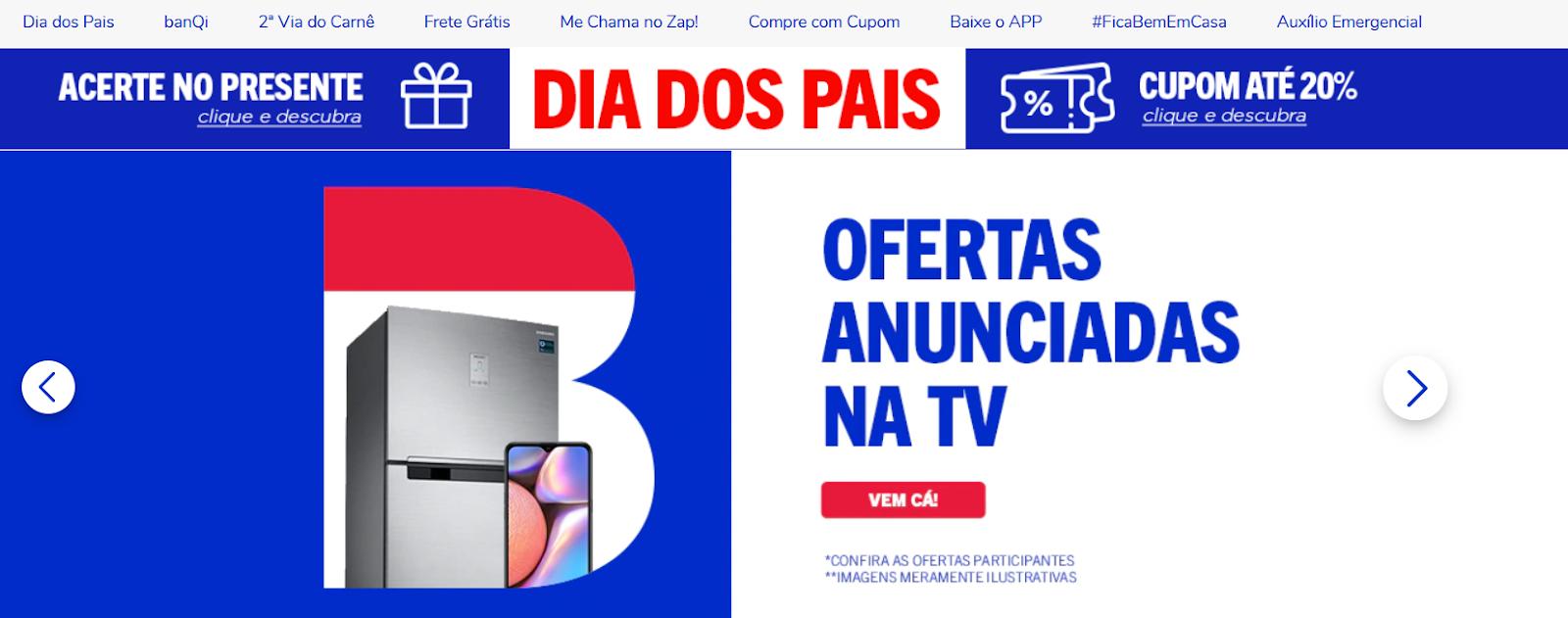top e-commerce sites in Brazil casas bahia
