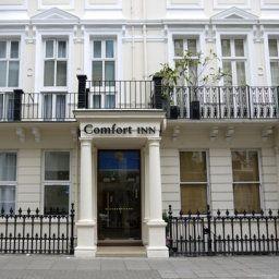 Comfort Inn sebagai hotel murah di London yang selanjutnya memiliki estetika yang minim dan intim