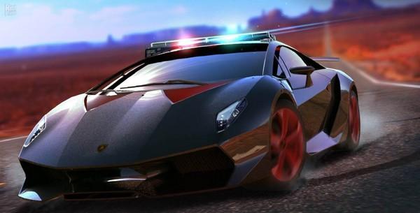 a Lamborghini design in game