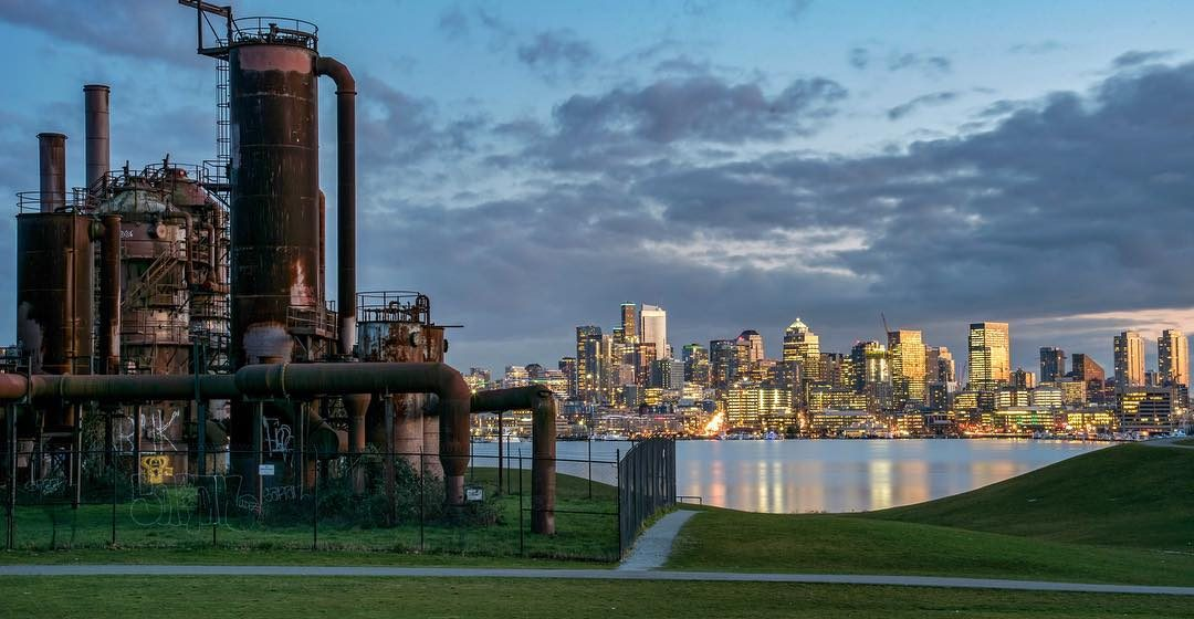 Gas Works Park in Fremont