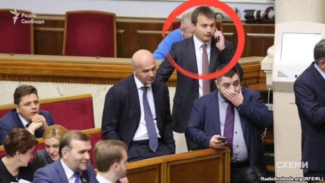 Заступник голови президентської фракції Сергій Березенко - за версією голови МВС Авакова, він причетний до схем підкупу виборців