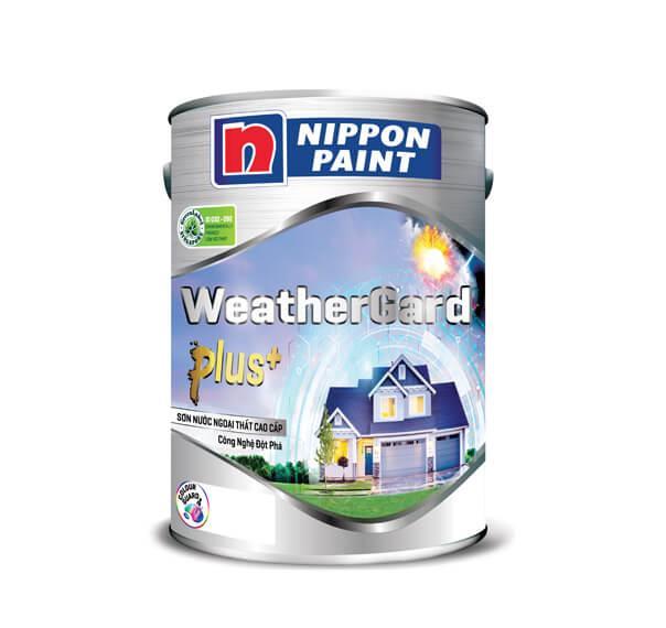 Sơn Nippon WeatherGard Plus 5L cao cấp   ToTa Paint