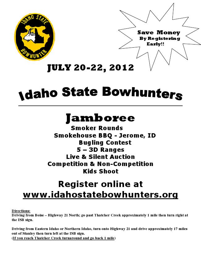 Idaho State Bowhunters Jamboree Stanley Idaho