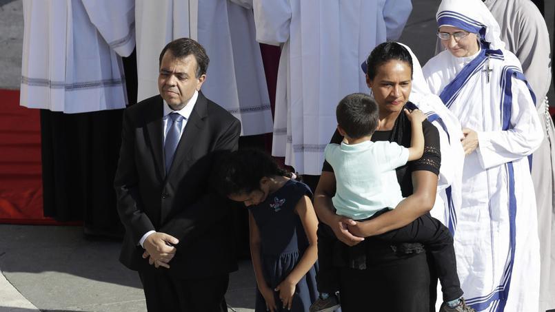 Marcilio Andrino avait guéri miraculeusement en 2008 après avoir prié la bienheureuse de Calcutta.