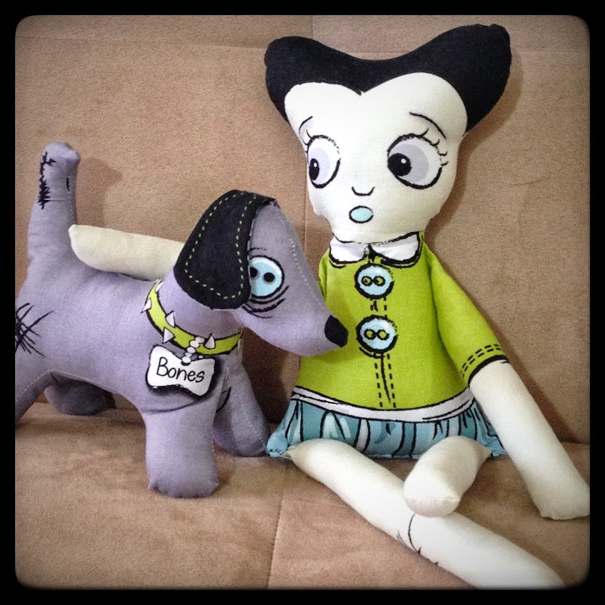 Zombie Zoe doll
