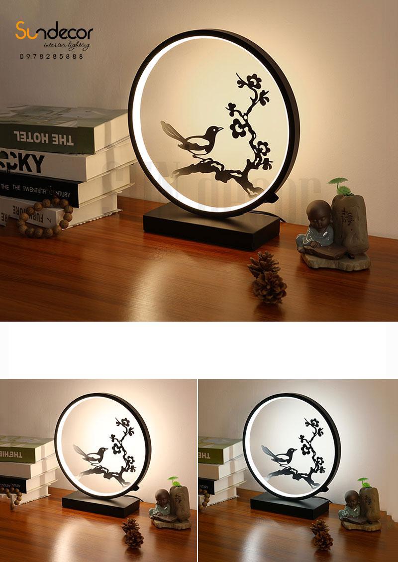 đèn bàn led trang trí phòng ngủ