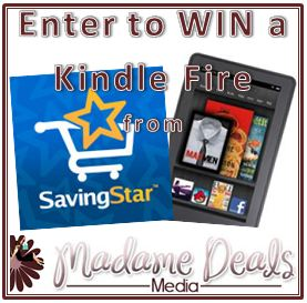 Kindle Fire #Giveaway Sponsored by SavingStar