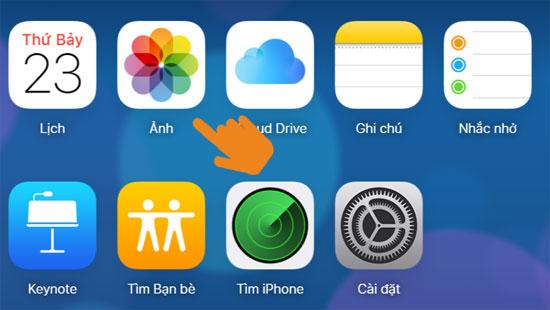 Làm thế nào để chia sẻ ảnh trên iCloud