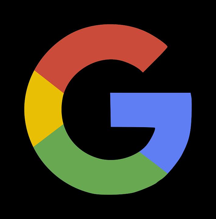 Google, Logo, Shadow