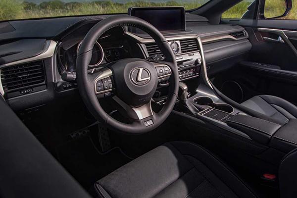 2020-Lexus-RX-350-Dashboard