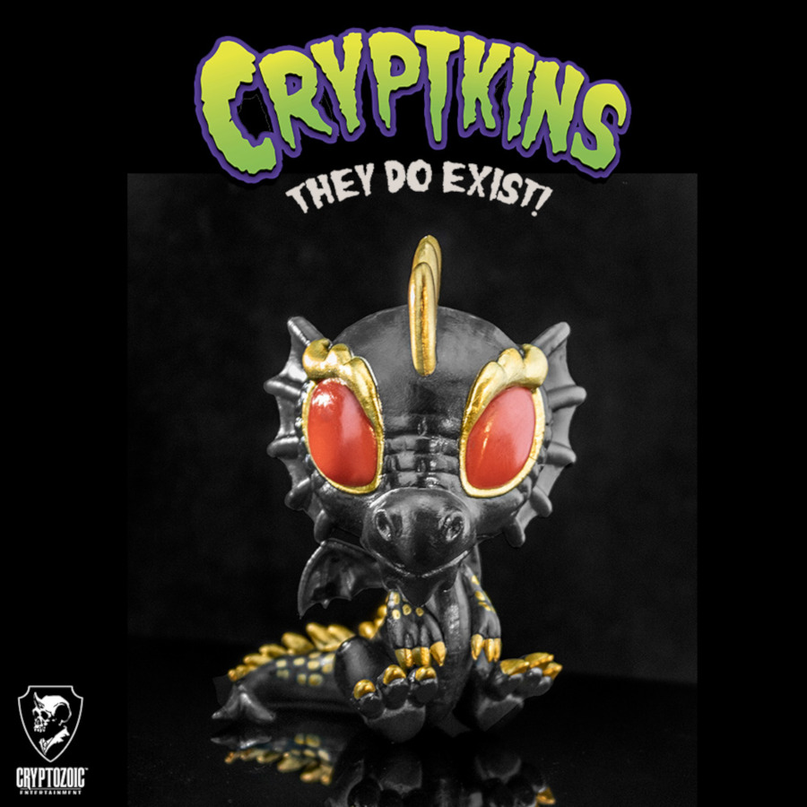 Black Dragon Cryptkins: Series 2 Vinyl Figure