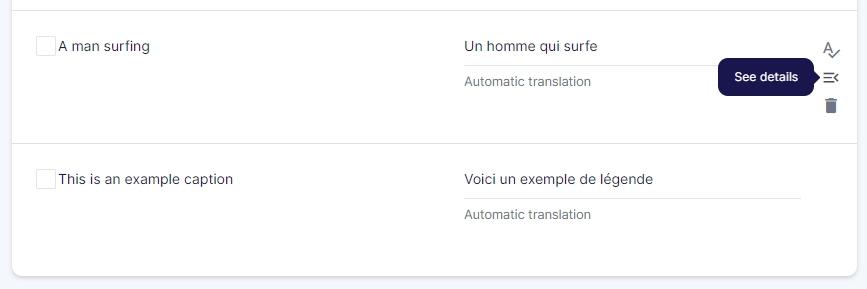 translations list weglot