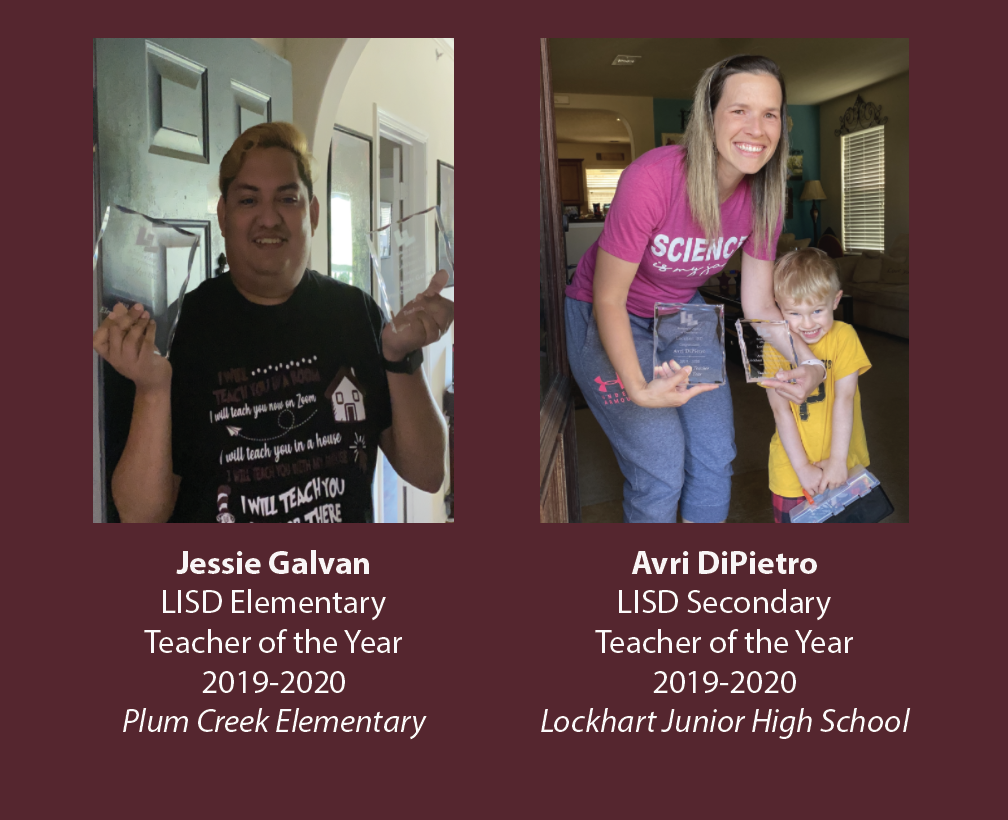 LISD Teachers of the Year