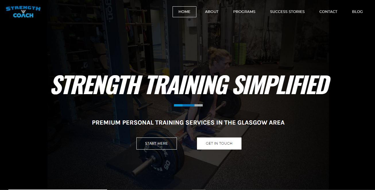 Strength Training Simplified website.