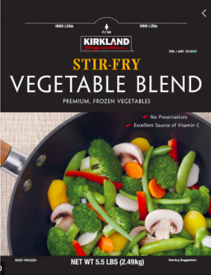 Costco Stir Fry Vegetables
