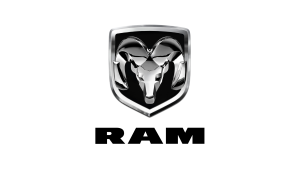 Android Auto Compatible car featuring RAM Logo