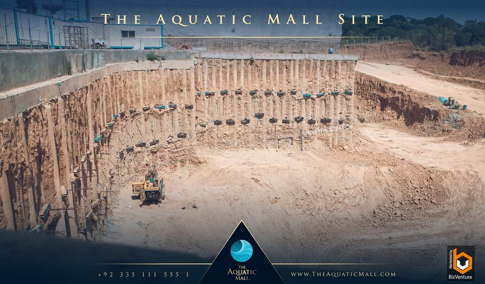 The Aquatic mall Islamabad Contruction