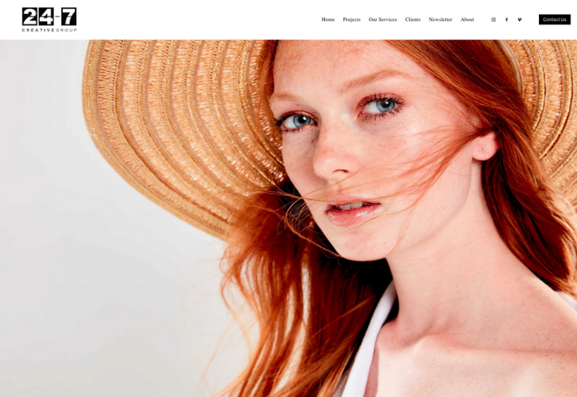 Squarespace webdesign von 99designs
