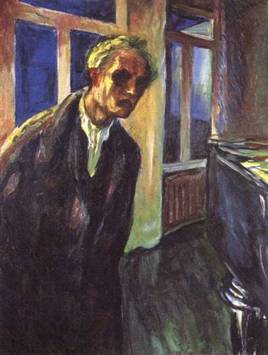 Munch, Self-portrait. The night wanderer.jpg