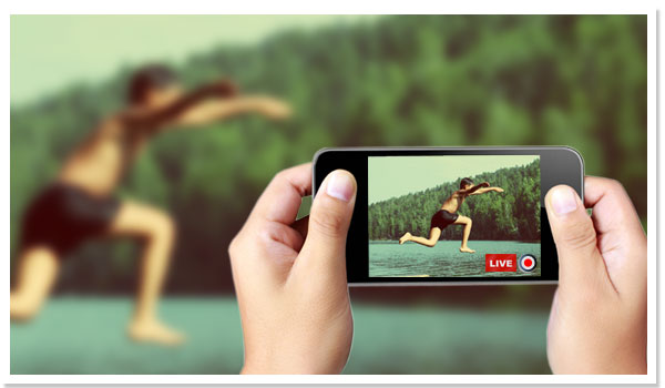 how to create a live video streaming website