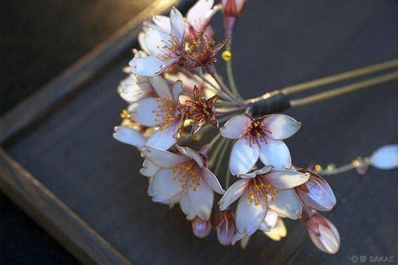 Image result for Kanzashi của Maiko