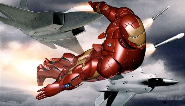 Image result for adi granov iron man concept art