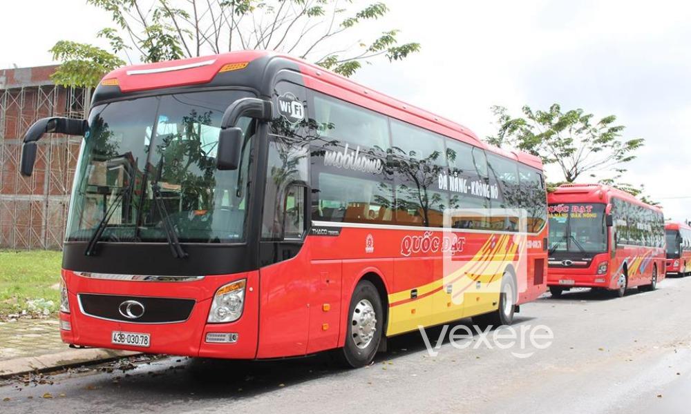 Xe Quốc Đạt từ Đà Nẵng đi Dak Nông