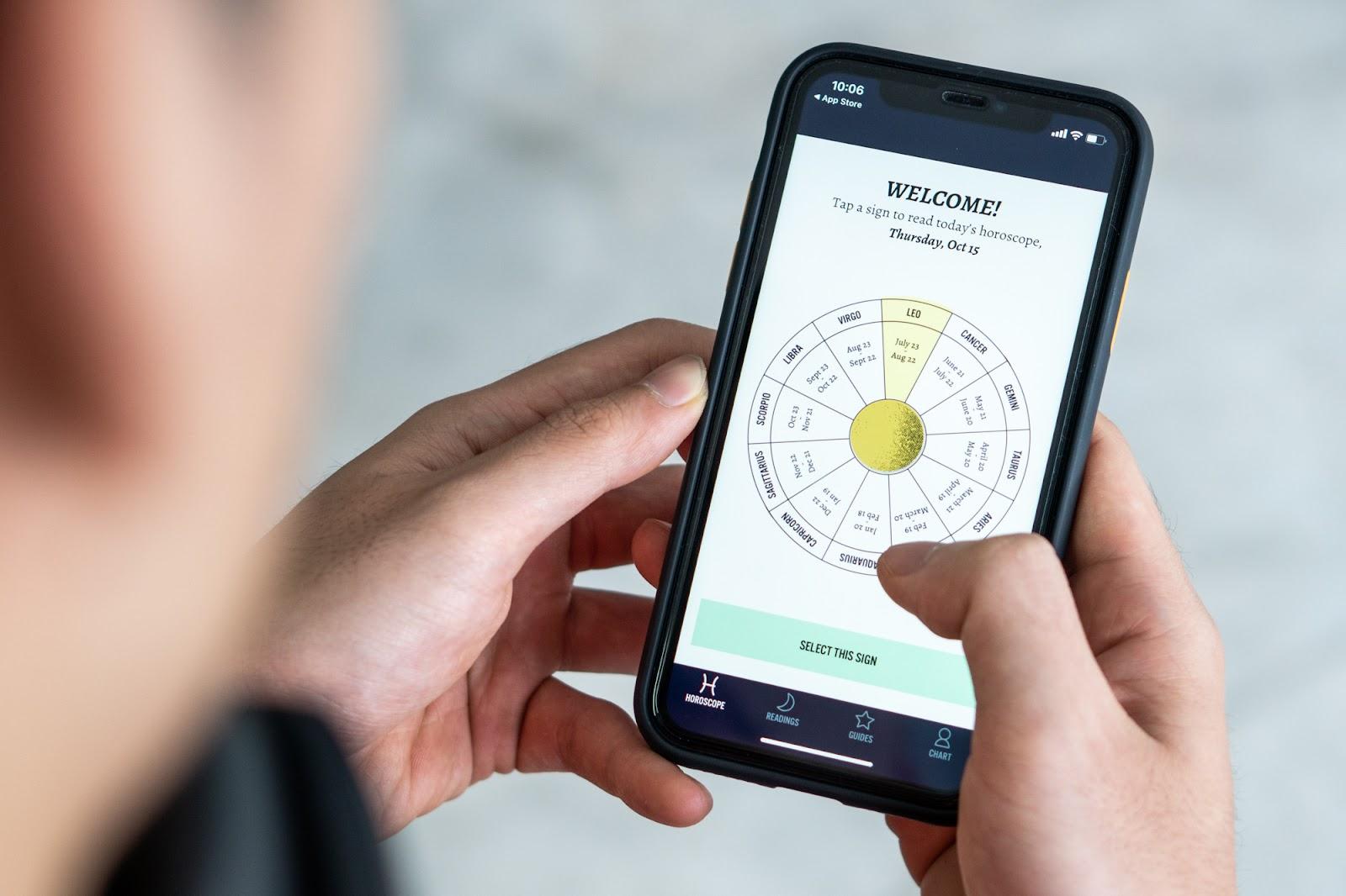 class Ổn App 5 Ứng dụng horoscope coacute trải nghiệm xịn nhất năm 2020 5