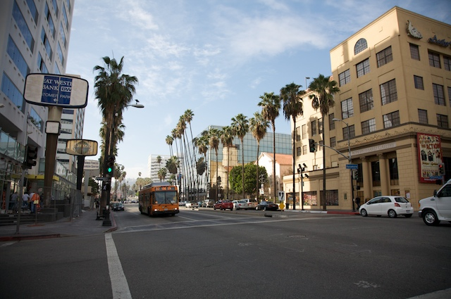 Hollywood Blvd is one of the important landmarks in Hollywood